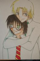Harry and Draco by Roxaslover3