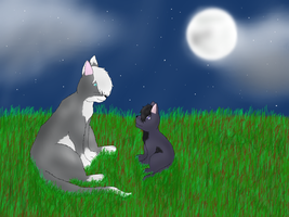 'Now, let me explain to you about Starclan...' by Izuri-Chan93