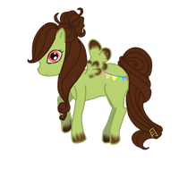 My Little Pony Chocolate Mint by su-i-cide-kid