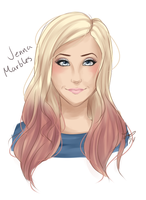 Jenna Marbles by Darth-Crumb
