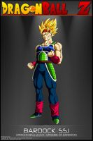 Dragon Ball Z - Bardock SSJ by DBCProject