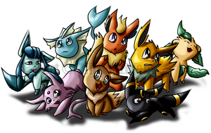 Eeveelutions by Tailzkip