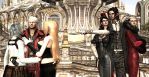 Request #109 Devil May Cry and Bayonetta!(w/ Luka) by MichealJordy