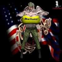 Major Mellons by Chup-at-Cabra