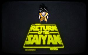 Namek Wars episode VI - Return of the Saiyan by fogdark
