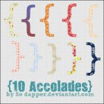 10 Accolades pngs by SoDapper
