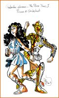 Wonder Woman - The Perez years by James-GF