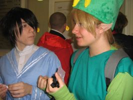 Gil and Link again :P by misfitmosher
