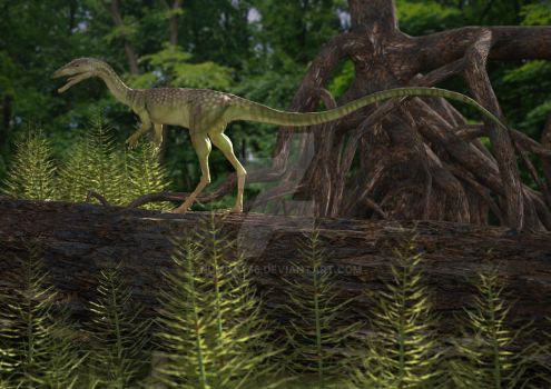 Compsognathus by numbat66
