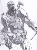 Deathstroke by Magribb