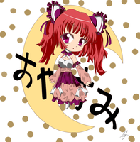 Anime Chibi Oyasumi by kayanimeproductions