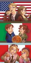 APH Women and Food-incomplete? by avatarmirai
