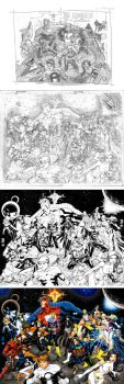 Legion 37 Cover Process by manapul