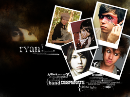 Ryan Ross Wallpaper by couldhavebeenking