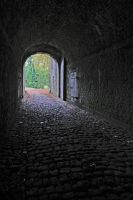 Tunnel on Namur Citadel by Rea-the-squirrel