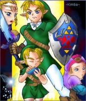 Zelda: Ocarina of Time by KimbaBaggybum