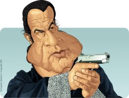 Steven Seagal by diplines