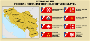 Federal Socialist Republic Of Yugoslavia by Leoninia