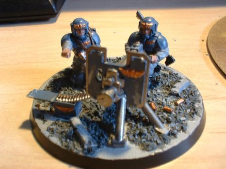 Heavy Bolter Team - Finished 1 by DeviantRye