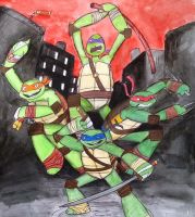 Turtle Power by exkhale