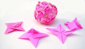 Star-octagon kusudama by wombat1138