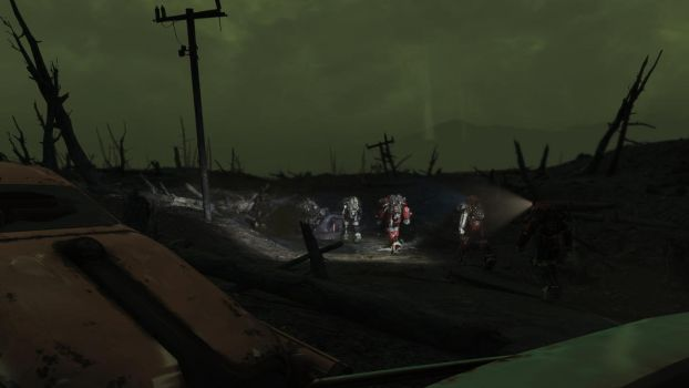 FALLOUT 4: PATROLLING THE GLOWING SEA by Blabzcrow