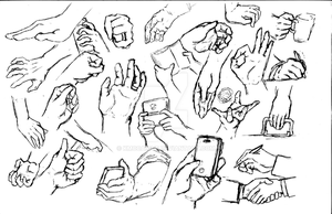 Hand Practice by kmccaigue