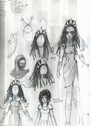 Tethys Character Design