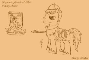 WTWE Equestria Guards - Militia by QuirkyWallace