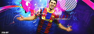 DAVID VILLA 'WELCOME TO ATLETICO MADRID' by HT4GFX