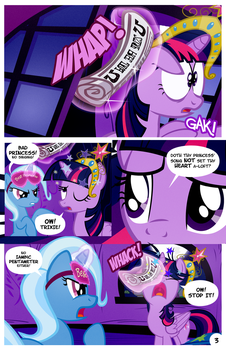 Ponyville Library After Dark Page 3 by PixelKitties