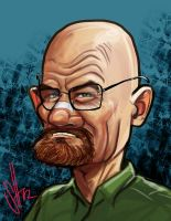 Walter White by scottssketches