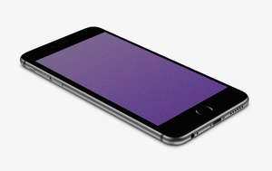 Purple Sandy Wallpaper for iPhone 6 and 6 Plus by kiwimanjaro