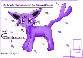 Espeon by JirachiLegend