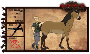 Shepard Abbot | Equestrians Stable-Hand | Alive by Sharkic-ii