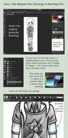 Tutorial - Editing Drawings in PaintShop Pro by unsteadily