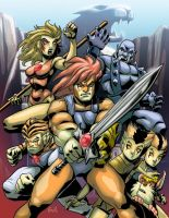 ThunderCats - FC Commish by EryckWebbGraphics