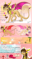 Amirah Dragoness Sheet by Art-by-Ling