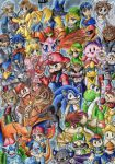 Super Smash Bros Brawl by mmishee