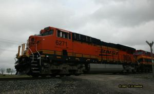 BNSF 6271 at Gentry AR by labrat-78