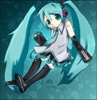 Loli Miku by Scarffle