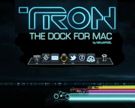 TRON DOCK for Mac by amcreal