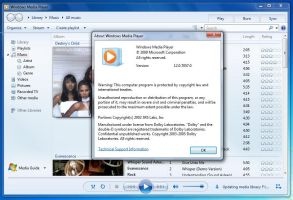 Windows Media Player 12.0.7057 by Misaki2009