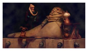 jabba's courtroom by lightandshadow