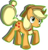 Applejack by WasleyTheBronyCat