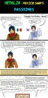 hetalia Mexico snaps passtimes by chaos-dark-lord