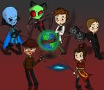 UNITED IN VILLAINY by InvaderJes11