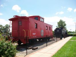 Seaboard Caboose by CNW8646