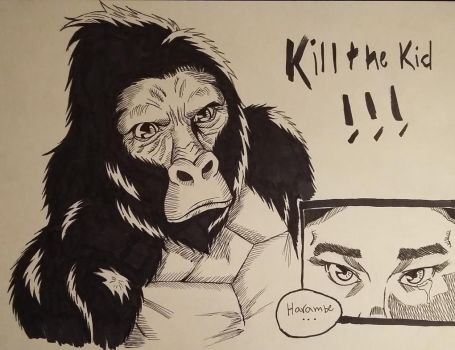 Harambe Will Have His Vengance! by Max-Manga