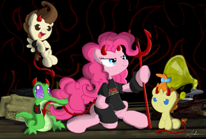 For Those About To Rock... by FlutterThrash